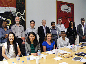 BASIX team meeting with Department of Industry in Canberra, June 2015